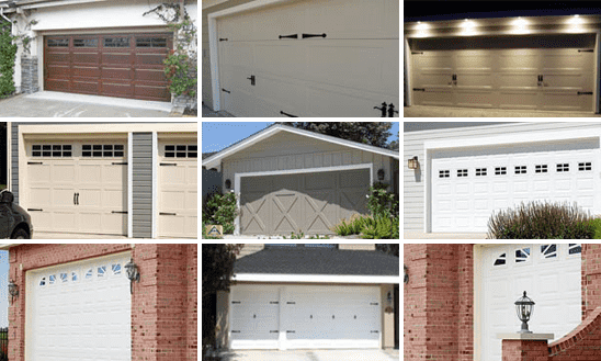 Garage Door style St Petersburg, FL